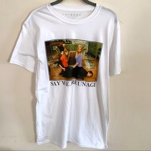 New Friends Graphic T-shirt